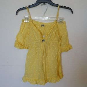 Victoria's Secret Yellow Pajama Set